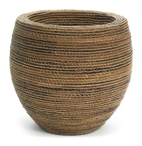 Honey | Pflanzvase aus geflochtener Kordel