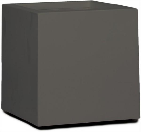 Premium Cubus Pflanzkübel quarzgrau