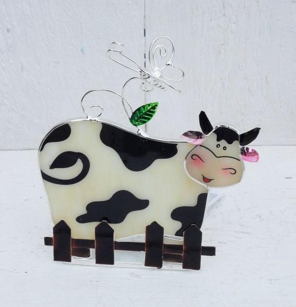 Kuh-Teelicht-Windlicht-Figur-Tiffany-Glas