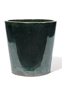 vaso old english green keramikk bel palmenmarkt. Black Bedroom Furniture Sets. Home Design Ideas