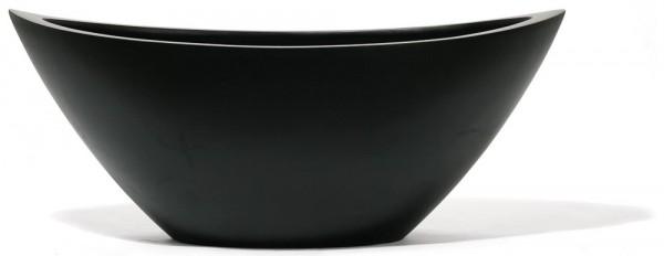 Ovalo Schwarz   UrbanLine Pflanzkübel