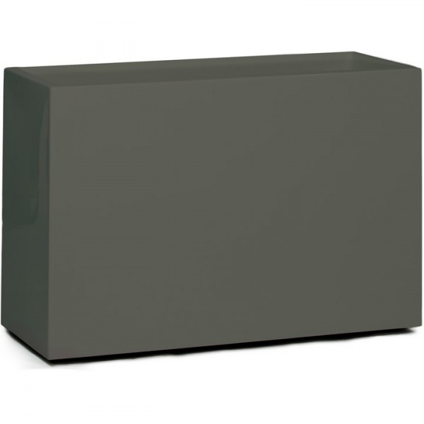 Premium Block Raumteiler - Pflanzkübel quarzgrau 60 cm
