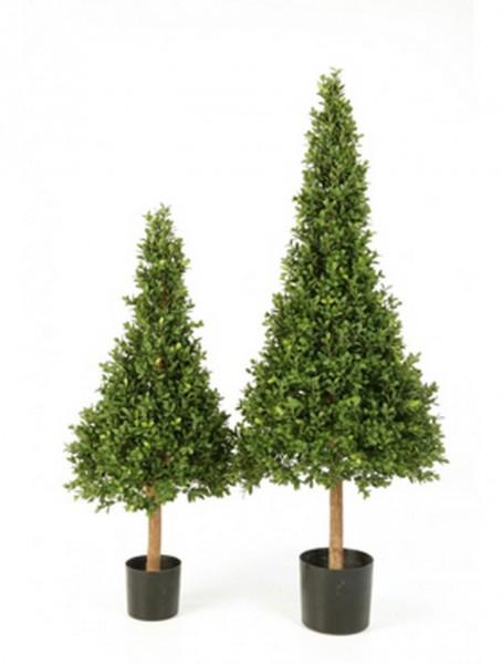 Buxus Pyramide | Buchsbaum Kunstpflanze im Topf