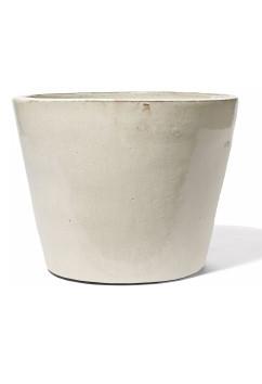 Keno Creme - Keramikkübel