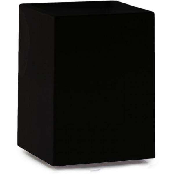 Premium Tower Pflanzsäule schwarz 50 cm