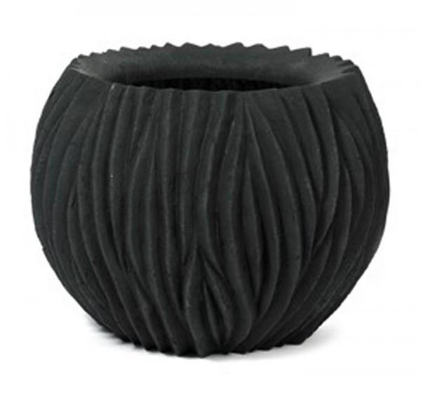 River Bowl Black | Pflanzkübel