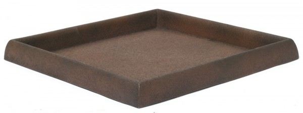 Untersetzer quadratisch für Pflanzkübel | Artline Rost
