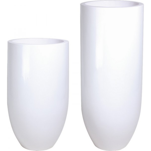 Premium Pandora Pflanzkübel weiß