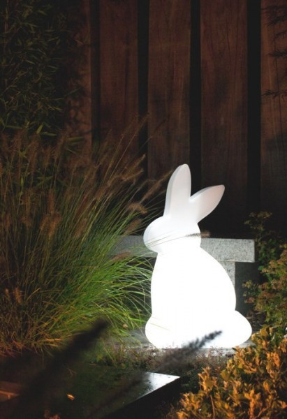 Shining Rabbit 50 cm | Hase Außenleuchte