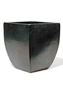 Vaso Calice - Graphit Keramikkübel