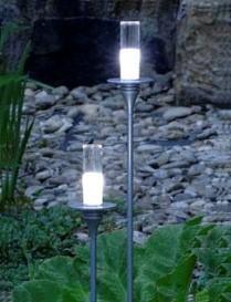 Gaura LED Standleuchte warm Weiß