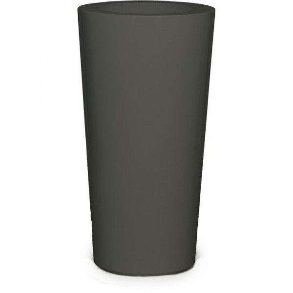 Premium Konus Pflanzvase quarzgrau 91 cm