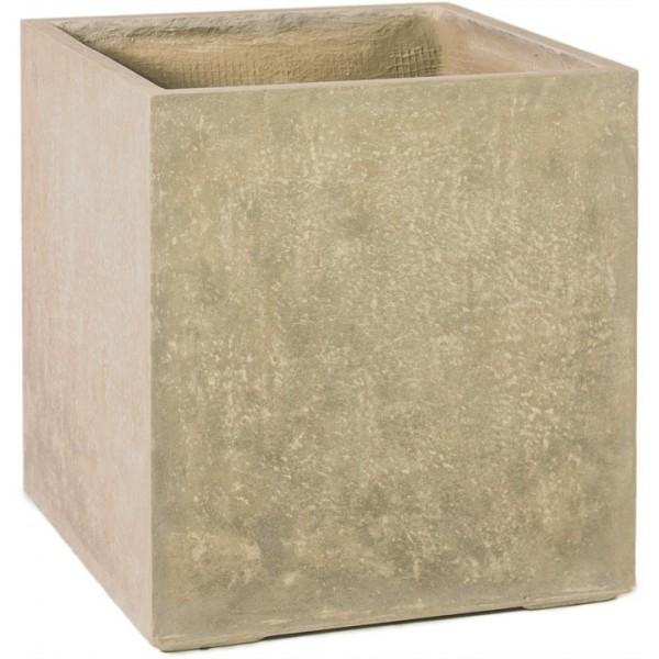 Division Cube beige | Pflanzkübel