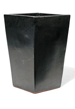 Vaso Quadro Mezzo Alto - Graphit Keramikkübel