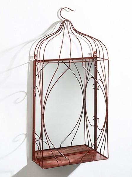 Dekorationsspiegel-Sibilla-für Pflanzen-aus-Metall