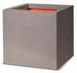 Cube Pflanzkübel   Capi Touch Hellgrau