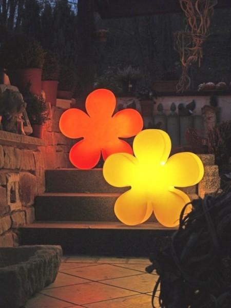 Shining Flower 40 cm | Blume Außenleuchte
