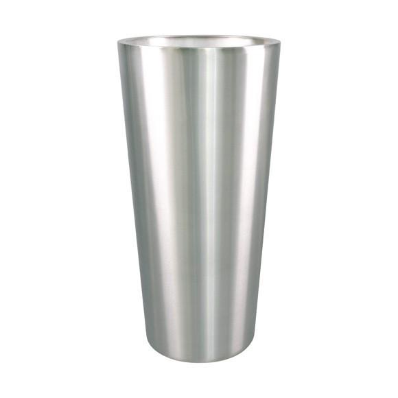 Konus Plus 80 cm | Edelstahl-Pflanzkübel