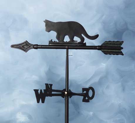 Wetterfahne Katze