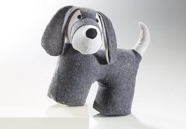Türstopper-Hund-aus-Stoff-anthrazit-grau-befuellt-mit-sand