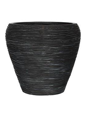 Pflanzkübel Konisch | Capi Nature Otello schwarz