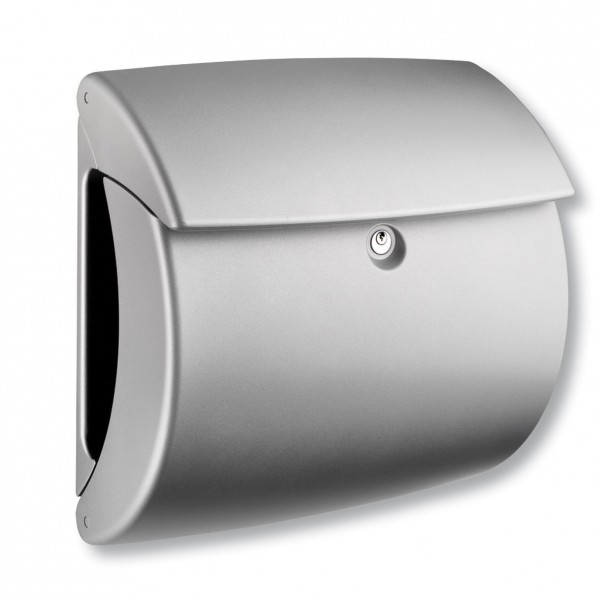 kiel kunststoff briefkasten mit integriertem zeitungsfach palmenmarkt. Black Bedroom Furniture Sets. Home Design Ideas