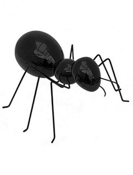 Ameise Andy schwarz | Ant ein Kunstobjekt aus Fiberglas und Steinpulver
