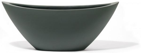 Ovalo Grau | UrbanLine Pflanzkübel