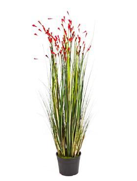 Grass coral red 120 cm - Kunstgras