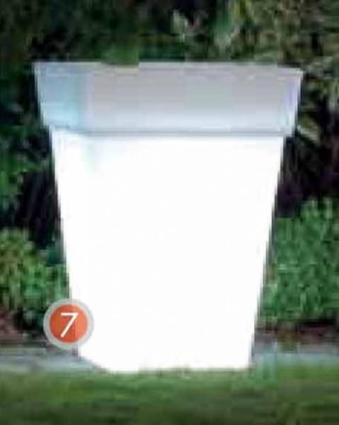 Shining Pot square | Leucht Pflanzgefäß
