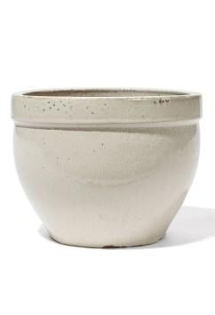 Kyros Creme - Keramikkübel