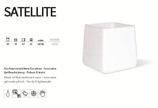Satellite white