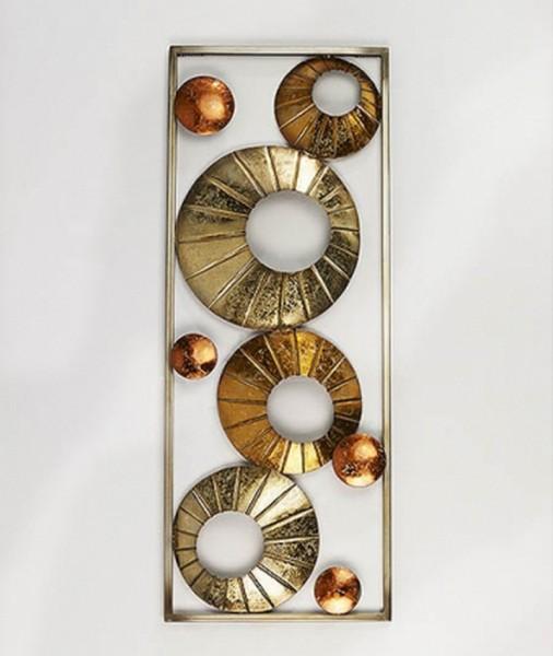 Wandbild Solaris aus Metall