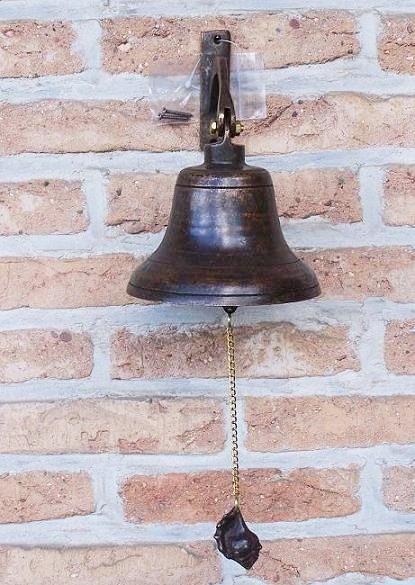 Große Glocke aus Bronze | Wanddekoration