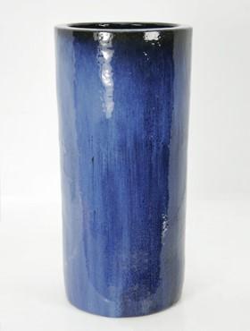 Challenger Pflanzkübel | Blau Keramik