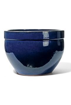 Kyros - Keramikkübel Königsblau