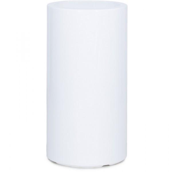 Premium Classic Pflanzsäule rund weiß