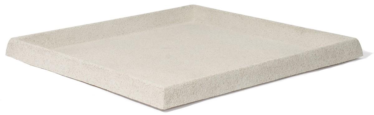 untersetzer quadratisch f r pflanzk bel artline stone cream palmenmarkt. Black Bedroom Furniture Sets. Home Design Ideas