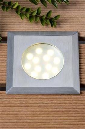 Elara LED Einbauleuchte warm Weiß