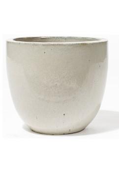 Vaso Pinolo Creme - Keramikkübel