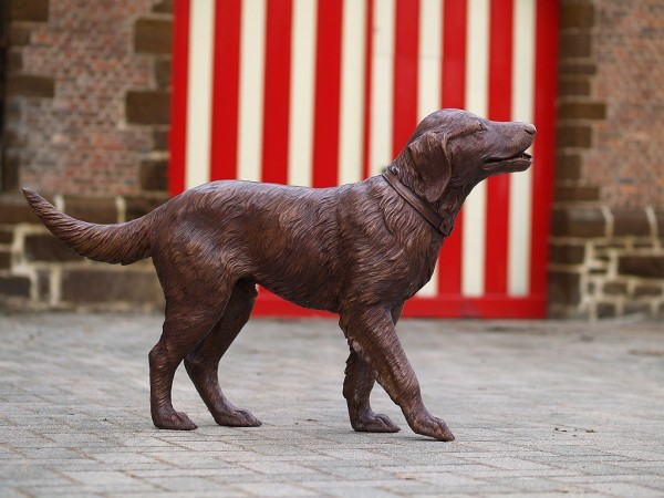 Retriever aus Bronze
