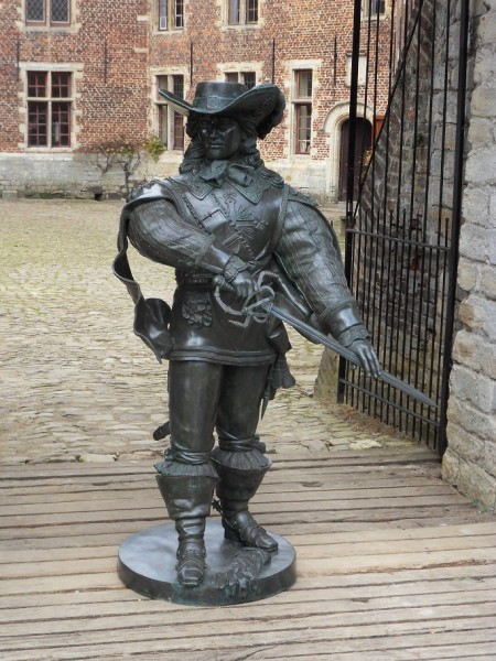 Artagnan Musketier | Bronzefigur