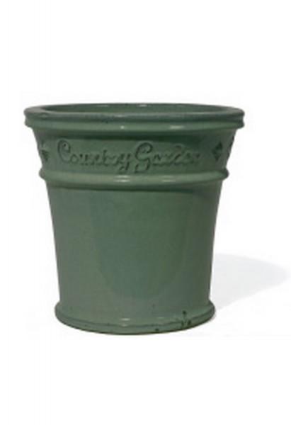 Bristol Thin Green   Country Garden Steingut