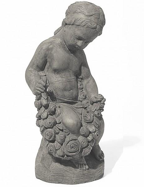 Steinfigur - Rosenmädchen Isabella