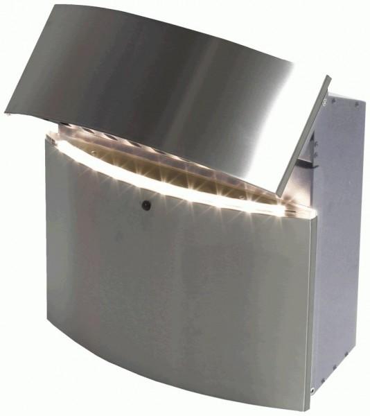 SafePost 12.4 der moderne LED Designer-Briefkasten