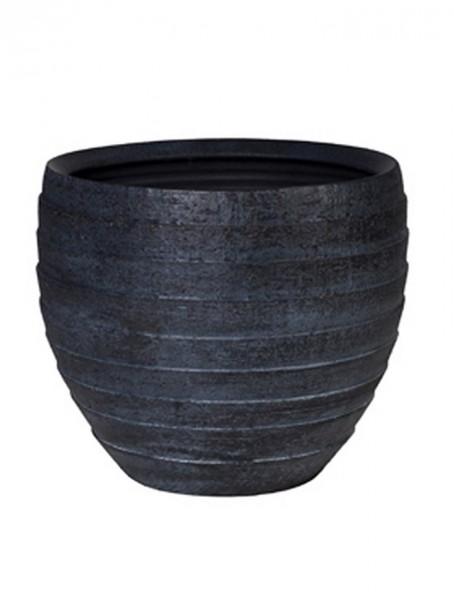 Amora ridgy | Keramikkübel blackbrush | Höhe 45cm