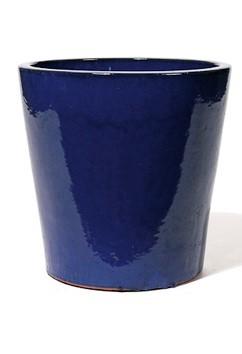 Vaso - Keramikkübel Königsblau