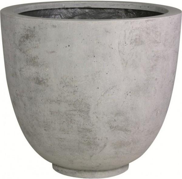 Ego-Giant-grey-Polystone-XXL-Pflanzkübel-fleurami