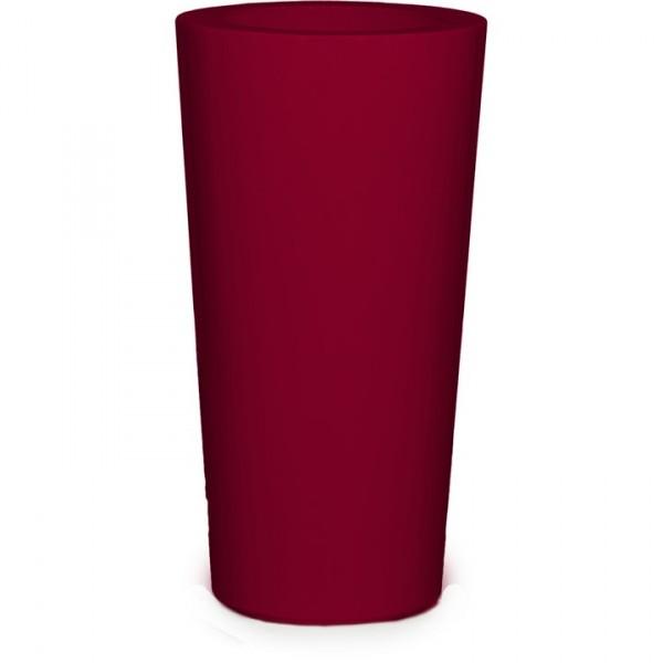 Premium Konus Pflanzvase rubinrot 91 cm