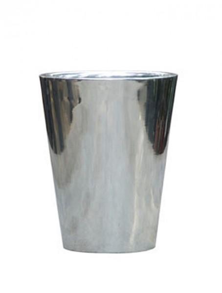 Aluminium Partner Vase l Poliert
